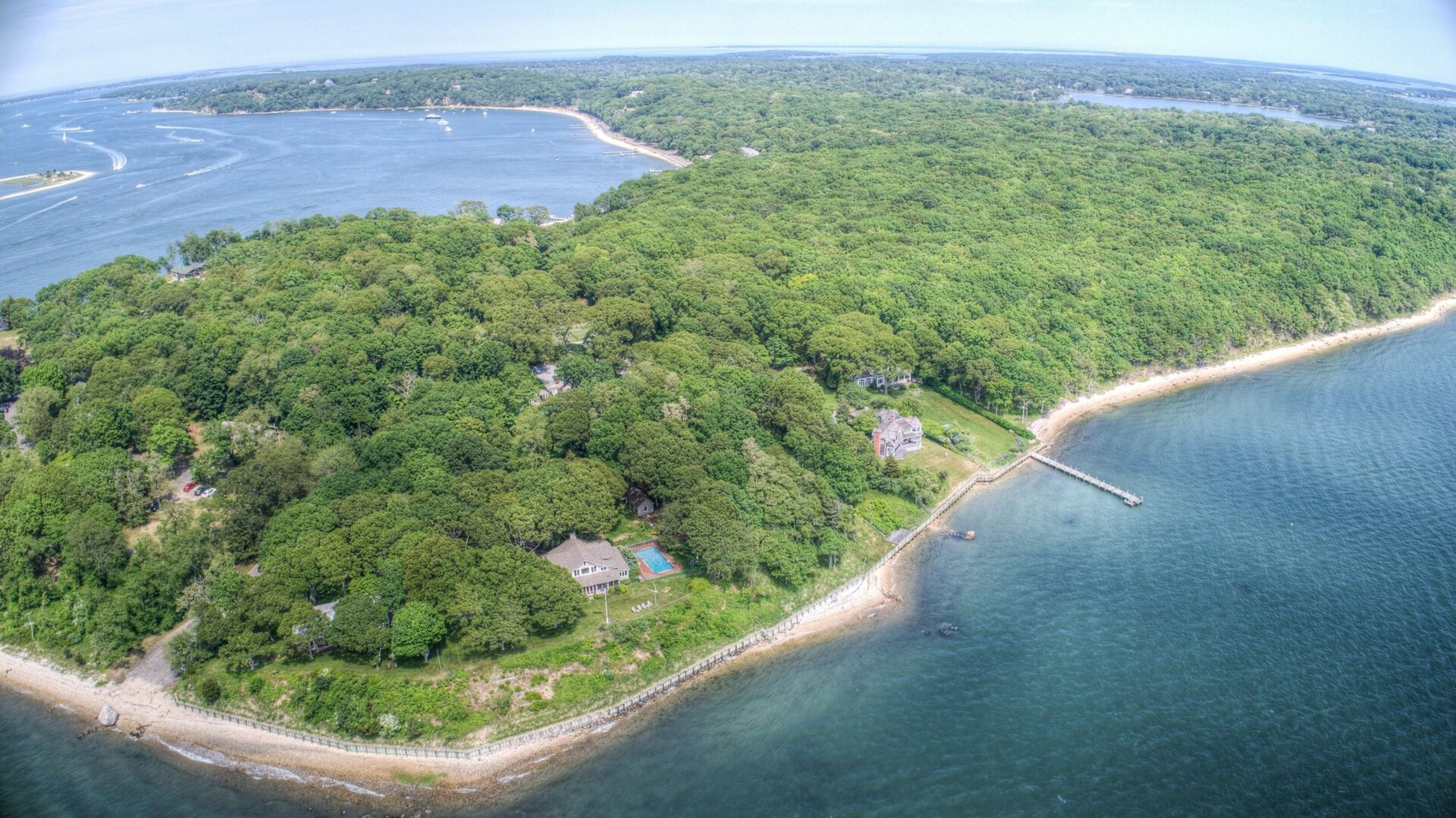 Bucolic Waterfront Dream Located on Prestigious Nostrand Pkwy